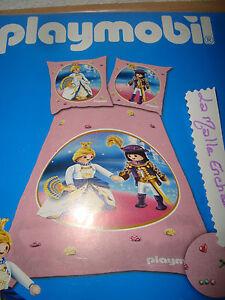 Playmobil housse de couette princesse et prince 140x200 1 taie neuve - Housse de couette princesse 140x200 ...