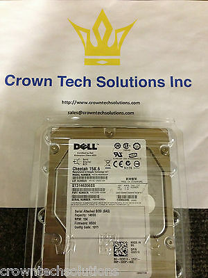 Dell 146gb 15k Sas 3.5 St3146356ss Xx518 9ce066-050 Poweredge 1950 2950 2900