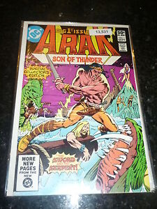 ARAK-SON-OF-THUNDER-No-1-Date-09-1981-DC-Comics-0-50-c
