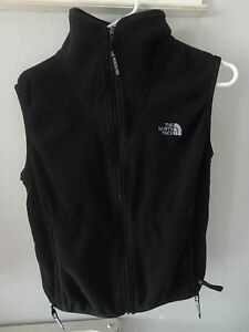 THE-NORTH-FACE-Vest-Womens-size-S-Black-Fleece