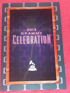2012 GRAMMY AWARDS CELEBRATION PROGRAM CARD KENNY LOGGINS ONE REPUBLIC