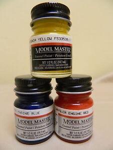 Testors-Model-Master-5-oz-Jars-Enamel-Paints-Many-Colors-Available