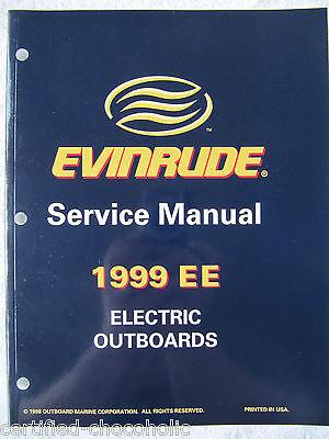 1999 Evinrude Factory Service Manual - Trolling Motors - Free Shipping - 787021