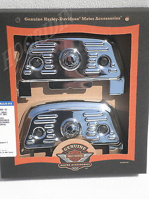 Harley skull touring electra glide  passenger floorboard footboard cover covers