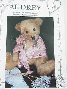Free teddy bear pattern - part 1