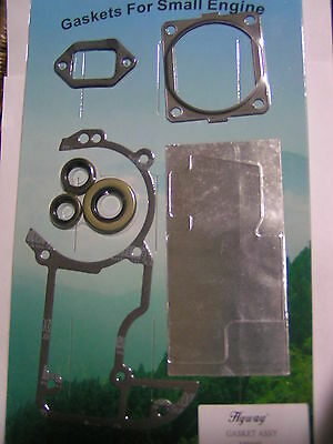 Stihl 066 Ms660 Gasket Set With Oil Seals