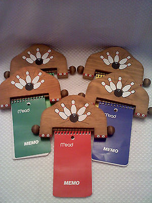 Bowling Handpainted Magnetic Notepad Holders Magnets 1 Quanity