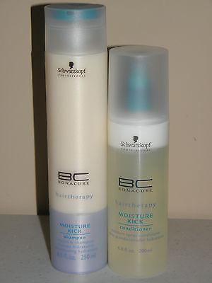 Schwarzkopf Bonacure Moisture Kick Shampoo & Spray Conditioner