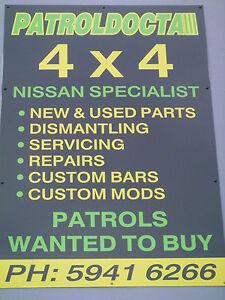Nissan-patrol-GQ-winch-pan-cradle-4x4-Bullbar