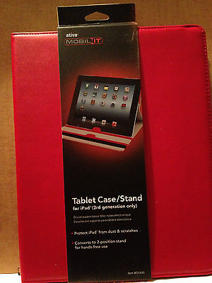Ativa Mobil-it Tablet Case/stand Red Look