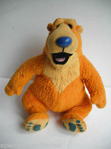 Bear-in-the-Big-blue-house-plush-toy-Disney-character-Small-USED-clean