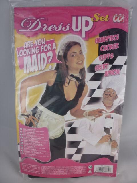 French Maid Dress Up Accessory Set Brand New