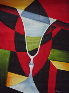 colourful-abstract-wine-glass-large-oil-painting-canvas-alcohol-bar-art-original
