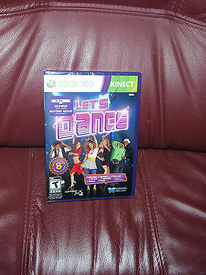 Lets Dance Xbox 360 Kinect(kinect Sensor Required To Play) Brand Ntsc-n