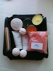 90-Pamper-Gift-Basket-Set-Bath-Bomb-Soap-Salts-Shower-Lotion-Gel-JOBLOT-Favour