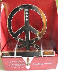 Peace Stocking Holder Ebay