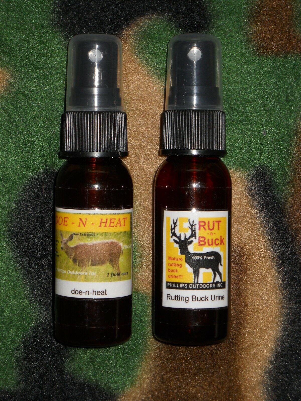 Rut Combo Doe -n- Heat Buck Lure 1oz. & Rut-n-buck With Tarsal Gland 1oz.