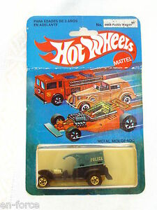 Hot wheels super rare mexico only paddy wagon mint in bp for 9 salon hot wheels mexico