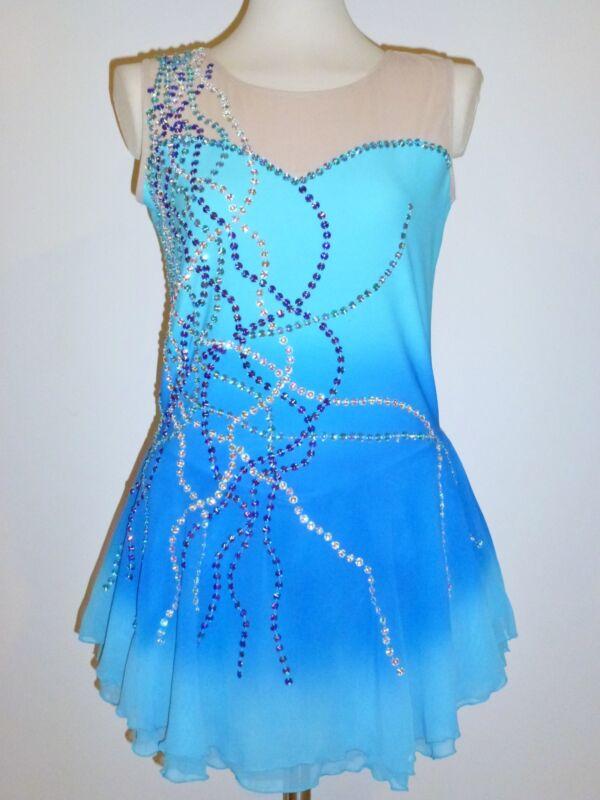 Платье на фигурное катание своими руками