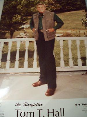 Vintage Tom T Hall Color Publicity Photo