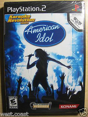 Karaoke Revolution Presents: American Idol ( Sony Playstation 2 , 2007) Ps2 on sale