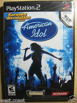 Karaoke Revolution Presents: American Idol ( Sony Playstation 2 , 2007) Ps2 on sale