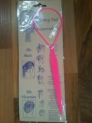 Fancy Tail Frisurenhilfe Haar Dreher Hair Twister Schlaufe Schlinge Haarknoten