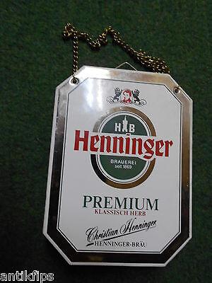 Henninger Premium Zapfhahnschild 221