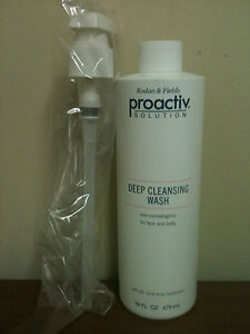 Proactiv Deep Cleansing Wash - 16oz. New, with pump. FREE SHIPPING!