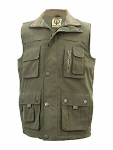 NEW-FALCON-LIGHTLY-PADDED-GILET-WAISTCOAT-MULTI-POCKET-FISHING-WALKING-SHOOTING
