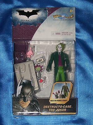 Joker: 5 Action Figure W/destructo Case, The Dark Knight/mattel-2007