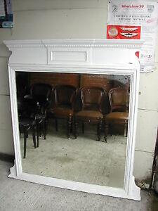 Overmantle-mirror