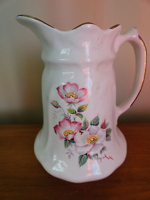 Vintage Virginia Rose Pottery  Milk Pitcher on Rummage