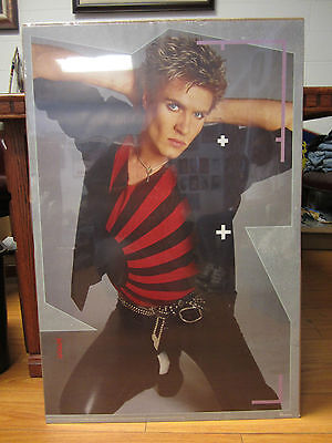 Vintage Duran Duran Simon Le Bon Rock Original Poster 1984 A