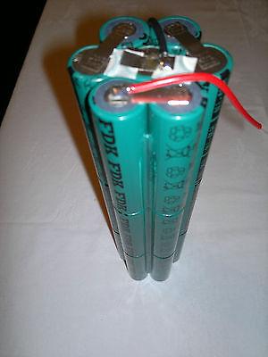 Halcyon/salvo 21w Hid 12volt 9ah Diving Torch Battery Refill