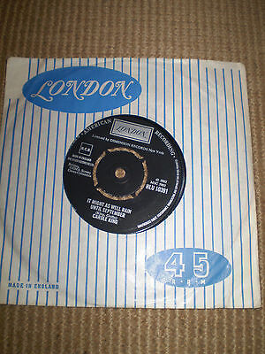 IT MIGHT AS WELL RAIN UNTIL SEPTEMBER,CAROLE KING,SINGLE 45  VINYL HLU 10391