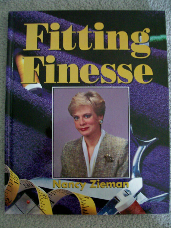 Sewing With Nancy Zieman Fitting Finesse author of the book and TV Program