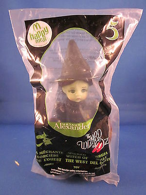 Mcdonalds Happy Meal Madame Alexander Wizard Of Oz Wicked Witch Doll 5 2008