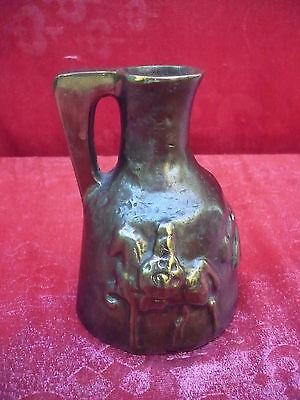 Beautiful, Massive bronze-kanne __ Vase __Qualitäts Bronze__Relief Decorated_