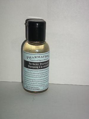 Pharmacopia Natural Organic Bodycare Verbena Shampoo Women 1.25 Oz