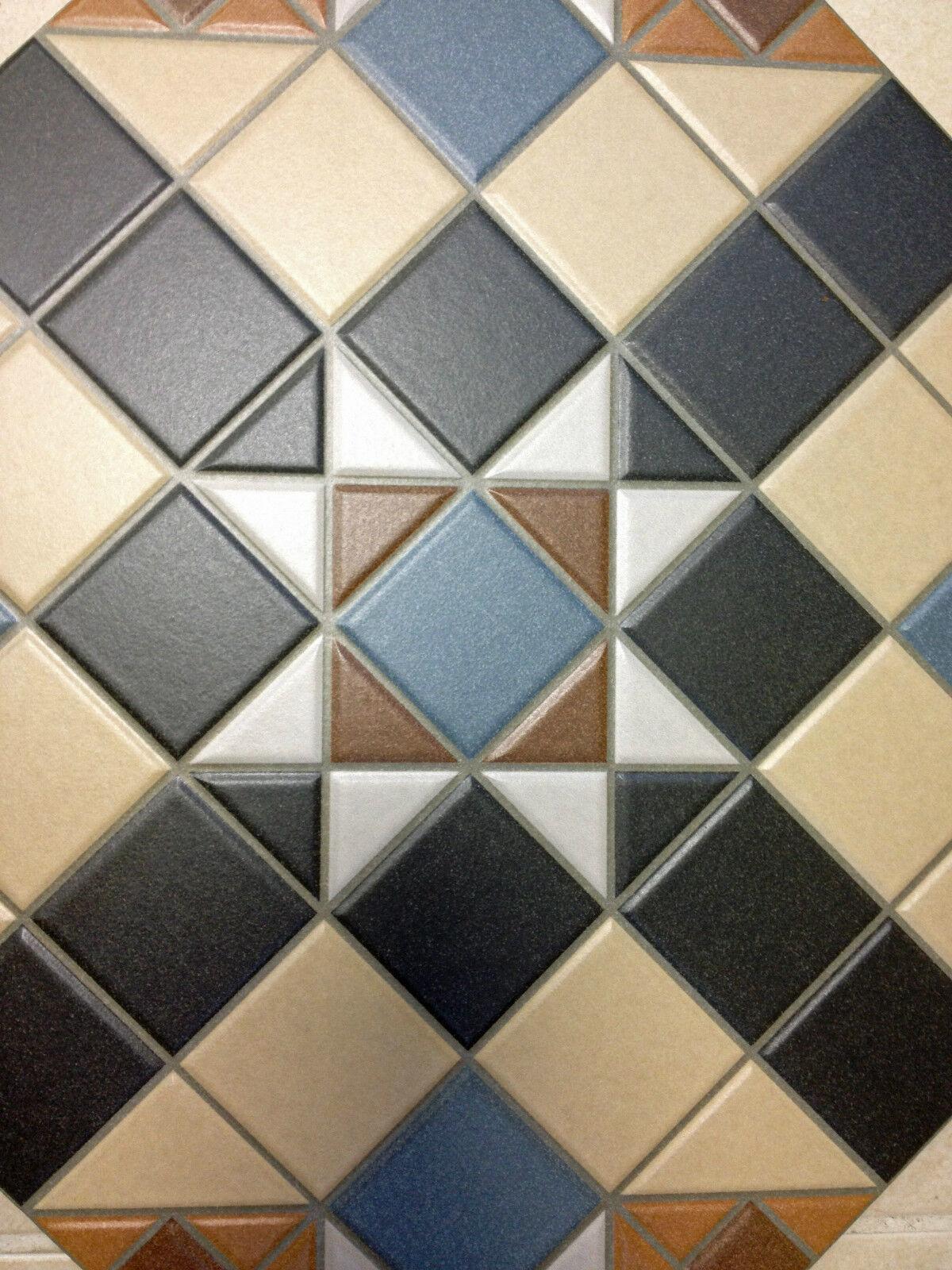 Reproduction Edwardian Floor Tiles - Rebellions