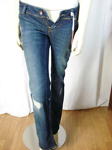 Tommy-Hilfiger-Ladies-Victoria-Straight-Denim-Jeans-Size-26