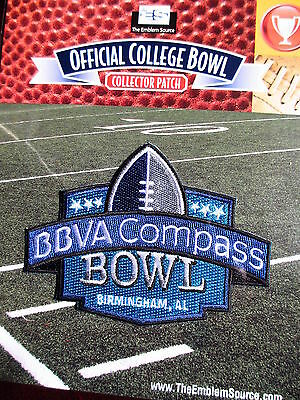 Ncaa College Football 2012 13 Bbva Compass Bowl Patch Pittsburgh Mississippi