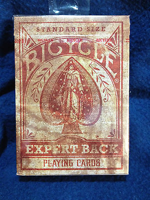Bicycle Expert Back Heritage distressed playing cards deck new sealed!
