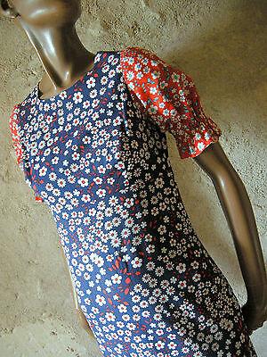 Vintage Chic Long Dress Hippy 70s Maxi Dress Vtg Seventies 70's (36)](Seventies Attire)