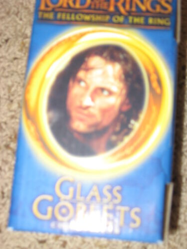 Lord of the Rings Glass Goblet Strider the Ranger New in Box