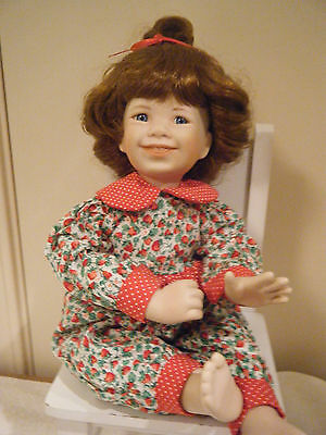 """""""PRINCESS"""" COLLECTIBLE PORCELAIN DOLL by JEANNE SINGER~from ASHTON DRAKE"""