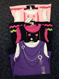 NEW-HARTSTRINGS-Girls-2PC-Knit-Top-Dress-Set-Outfit-Diff-colors-and-sizes