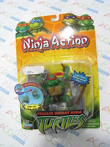 Anime-TMNT-Teenage-Mutant-Ninja-Turtles-Raphael-Action-Figure-Playmates-Vintage