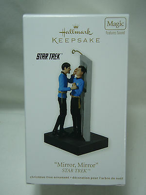2011 Hallmark Keepsake Ornament Mirror Mirror Star Trek Magic Sound